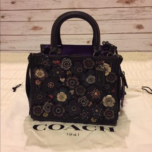 24433ff30f6 Coach Bags | Nwt Authentic Rogue 25 Tea Rose Handbag | Poshmark